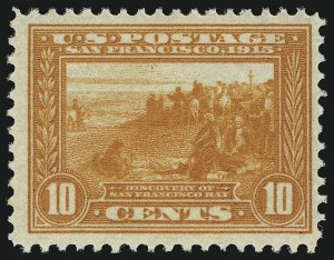 Sale Number 905, Lot Number 3081, Group by Issue1c-10c Panama-Pacific (397-400A), 1c-10c Panama-Pacific (397-400A)