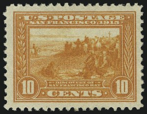 Sale Number 905, Lot Number 3082, Group by Issue1c-10c Panama-Pacific (397-400A), 1c-10c Panama-Pacific (397-400A)