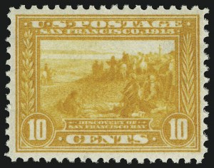 Sale Number 905, Lot Number 3084, Group by Issue1c-10c Panama-Pacific (397-400), 1c-10c Panama-Pacific (397-400)
