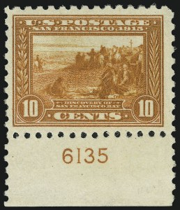 Sale Number 905, Lot Number 3088, Group by Issue1c-10c Panama-Pacific, Perf 10 (401-404), 1c-10c Panama-Pacific, Perf 10 (401-404)