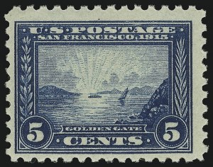 Sale Number 905, Lot Number 3089, Group by Issue1c-10c Panama-Pacific, Perf 10 (401-404), 1c-10c Panama-Pacific, Perf 10 (401-404)