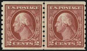 Sale Number 905, Lot Number 3092, Group by Issue1c-2c 1912 Coils (410-413), 1c-2c 1912 Coils (410-413)