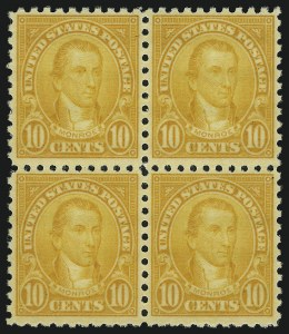 Sale Number 905, Lot Number 3124, Group by Issue1c-10c 1923-26 Issue, Perf 10 (581-591), 1c-10c 1923-26 Issue, Perf 10 (581-591)