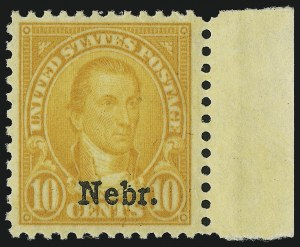 Sale Number 905, Lot Number 3126, Group by Issue1c-10c Kans., Nebr. Overprints (658-679), 1c-10c Kans., Nebr. Overprints (658-679)