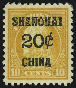 Sale Number 905, Lot Number 3157, Group by Issue1c-20c Offices in China (K1, K4, K6, K8, K10), 1c-20c Offices in China (K1, K4, K6, K8, K10)