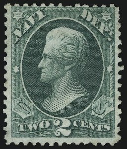 Sale Number 905, Lot Number 3238, Officials2c Navy, Green Trial Color Plate Proof on Wove, Perforated (O36TC4), 2c Navy, Green Trial Color Plate Proof on Wove, Perforated (O36TC4)