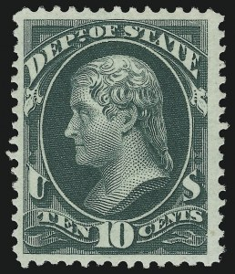 Sale Number 905, Lot Number 3252, Officials10c State (O62), 10c State (O62)
