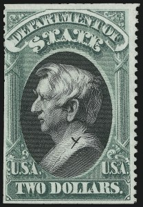 Sale Number 905, Lot Number 3254, Officials$2.00 State (O68), $2.00 State (O68)
