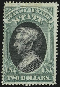 Sale Number 905, Lot Number 3255, Officials$2.00 State (O68), $2.00 State (O68)