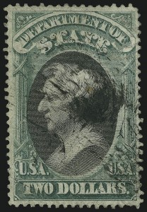 Sale Number 905, Lot Number 3257, Officials$2.00 State (O68), $2.00 State (O68)