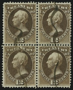 Sale Number 905, Lot Number 3263, Officials1c-15c Treasury (O72-O74, O77-O79), 1c-15c Treasury (O72-O74, O77-O79)