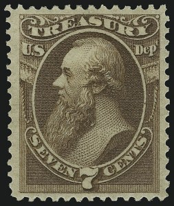 Sale Number 905, Lot Number 3267, Officials7c Treasury (O76), 7c Treasury (O76)
