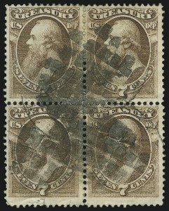 Sale Number 905, Lot Number 3269, Officials7c Treasury (O76), 7c Treasury (O76)