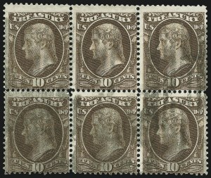 Sale Number 905, Lot Number 3271, Officials10c Treasury (O77), 10c Treasury (O77)