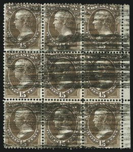 Sale Number 905, Lot Number 3273, Officials15c Treasury (O79), 15c Treasury (O79)