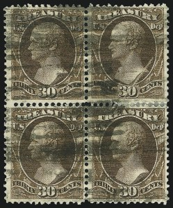 Sale Number 905, Lot Number 3275, Officials30c Treasury (O81), 30c Treasury (O81)