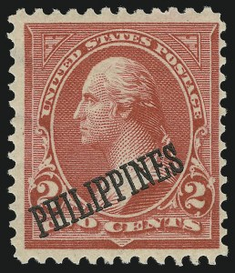 Sale Number 905, Lot Number 3836, Philippines1899, 2c Light Red, Ty. IV, Special Printing (214), 1899, 2c Light Red, Ty. IV, Special Printing (214)