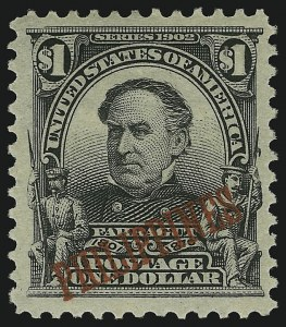 Sale Number 905, Lot Number 3847, Philippines1903, $1.00 Black (237), 1903, $1.00 Black (237)