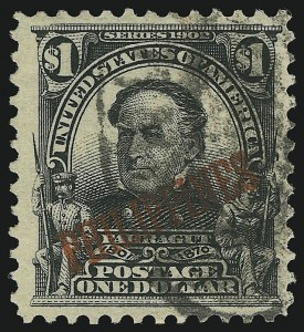 Sale Number 905, Lot Number 3848, Philippines1903, $1.00 Black (237), 1903, $1.00 Black (237)
