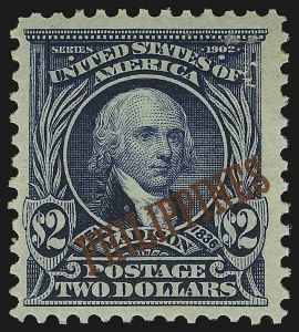 Sale Number 905, Lot Number 3849, Philippines1903, $2.00 Dark Blue (238), 1903, $2.00 Dark Blue (238)