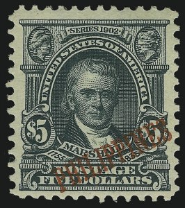 Sale Number 905, Lot Number 3852, Philippines1903, $5.00 Dark Green (239), 1903, $5.00 Dark Green (239)