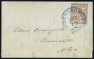 Sale Number 907, Lot Number 2750, Postmasters` ProvisionalsPetersburg Va., 5c Red (65X1), Petersburg Va., 5c Red (65X1)