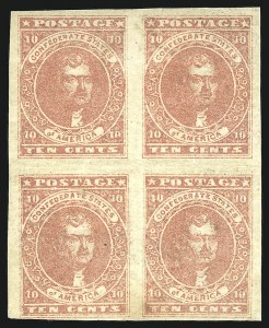 Sale Number 907, Lot Number 2779, General Issues Off Cover10c Rose (5), 10c Rose (5)