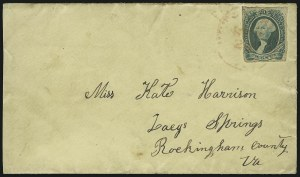 Sale Number 907, Lot Number 2936, General Issues On-Cover (No. 13, Balance)20c Green (13), 20c Green (13)