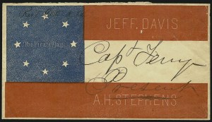 Sale Number 907, Lot Number 3084, Federal and Post-War UsagesThe Pirate Flag, The Pirate Flag
