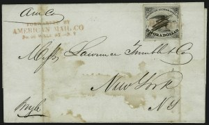 Sale Number 908, Lot Number 4558, 1844-45 Independent MailsIndependent Mails, Independent Mails