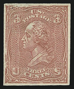 Sale Number 909, Lot Number 1132, 1867 Essays (National Bank Note Co.)National Bank Note Co., 3c Washington, Plate Essays on White Wove, Imperforate and Gummed (79-E23i), National Bank Note Co., 3c Washington, Plate Essays on White Wove, Imperforate and Gummed (79-E23i)