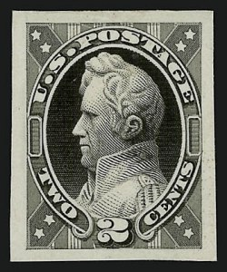 Sale Number 909, Lot Number 1238, 1870 Issue (National Bank Note Co.)National Bank Note Co., 2c Black, Jackson, Unadopted Design, Large Die Essay on India (146-E7a), National Bank Note Co., 2c Black, Jackson, Unadopted Design, Large Die Essay on India (146-E7a)