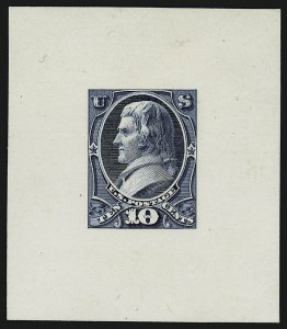 Sale Number 909, Lot Number 1250, 1870 Issue (National Bank Note Co.)National Bank Note Co., 10c Jefferson, Large Die Essay of Unadopted Design (150-E3a), National Bank Note Co., 10c Jefferson, Large Die Essay of Unadopted Design (150-E3a)