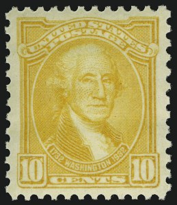 Sale Number 910, Lot Number 174, Later Issues (Scott 683 to 725)10c Orange Yellow (715), 10c Orange Yellow (715)