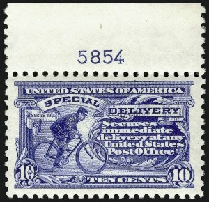 Sale Number 910, Lot Number 210, Special Delivery10c Ultramarine (E9), 10c Ultramarine (E9)