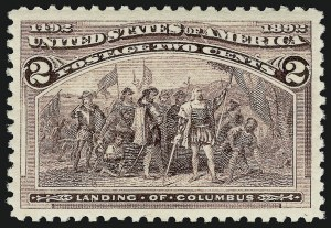 Sale Number 910, Lot Number 3, 1893 Columbian Issue2c Columbian (231), 2c Columbian (231)
