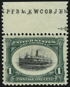 Sale Number 910, Lot Number 32, 1901 Pan-American Issue1c Pan-American (294), 1c Pan-American (294)