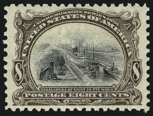 Sale Number 910, Lot Number 36, 1901 Pan-American Issue8c Pan-American (298), 8c Pan-American (298)