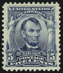 Sale Number 910, Lot Number 42, 1902-08 Issues5c Blue (304), 5c Blue (304)