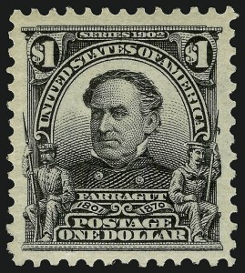 Sale Number 910, Lot Number 49, 1902-08 Issues$1.00 Black (311), $1.00 Black (311)