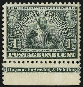 Sale Number 910, Lot Number 66, Louisiana Purchase and Jamestown Issues1c Jamestown (328), 1c Jamestown (328)
