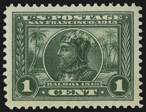Sale Number 910, Lot Number 75, 1913-15 Panama-Pacific Issue1c Panama-Pacific (397), 1c Panama-Pacific (397)
