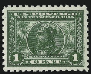 Sale Number 910, Lot Number 80, 1913-15 Panama-Pacific Issue1c Panama-Pacific, Perf 10 (401), 1c Panama-Pacific, Perf 10 (401)