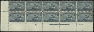 Sale Number 913, Lot Number 780, 1893 Columbian Issue3c Columbian (232), 3c Columbian (232)