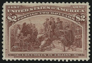 Sale Number 913, Lot Number 783, 1893 Columbian Issue$2.00 Columbian (242), $2.00 Columbian (242)