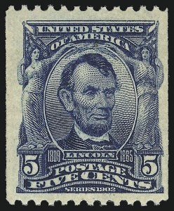 Sale Number 913, Lot Number 816, 1902-08 Issues5c Blue, Coil (317), 5c Blue, Coil (317)