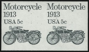 Sale Number 913, Lot Number 882, 1922-26 and Later Issues5c Motorcycle, Imperforate Pair (1899a), 5c Motorcycle, Imperforate Pair (1899a)