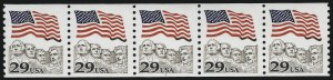 Sale Number 913, Lot Number 886, 1922-26 and Later Issues29c Flag Over Mt. Rushmore (2523c), 29c Flag Over Mt. Rushmore (2523c)
