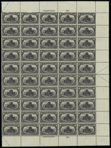 Sale Number 913, Lot Number 982, Complete Sheets and Panes10c Trans-Mississippi (290), 10c Trans-Mississippi (290)