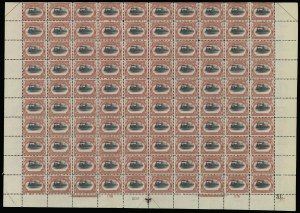 Sale Number 913, Lot Number 984, Complete Sheets and Panes2c Pan-American (295), 2c Pan-American (295)